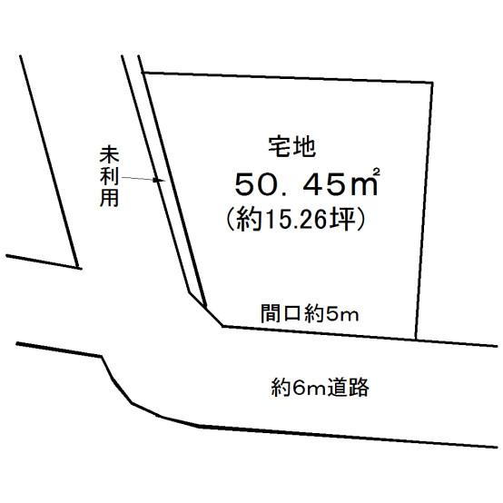 680万伏見区醍醐南里町(土地図)