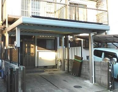 椥辻駅徒歩5分 生活に便利な住環境 太陽光発電パネル設置