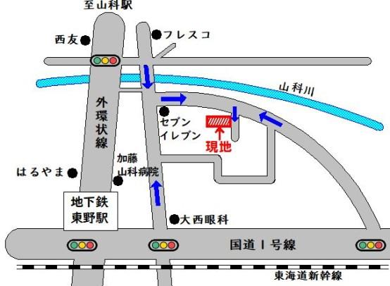 北井ノ上町地図