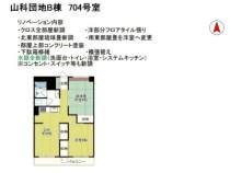 山科団地B棟 7--号室