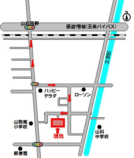 公告用地図