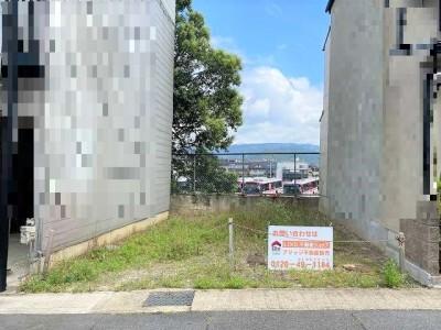 売土地 椥辻駅から12分 風通し良好の立地